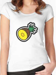 Pineapple Women's Fitted Scoop T-Shirt