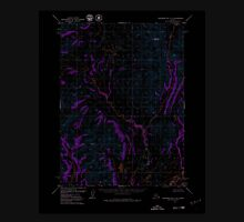 USGS TOPO Map Alaska AK Goodnews Bay C-3 355748 1979 63360 Inverted Unisex T-Shirt
