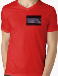 5:03, looking up Mens V-Neck T-Shirt