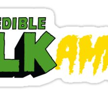 The Incredible Hulkamania Sticker