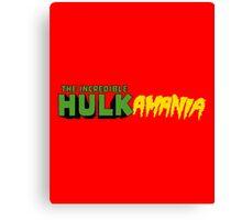 The Incredible Hulkamania Canvas Print