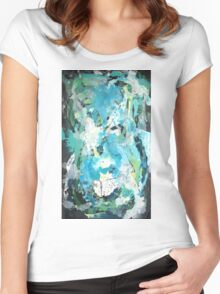 Algae By Kenn. Women's Fitted Scoop T-Shirt