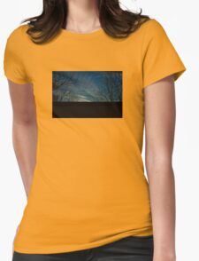 5:02, looking up Womens Fitted T-Shirt