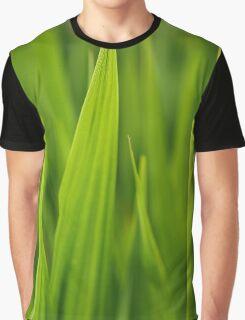 Fresh Green Grass Graphic T-Shirt