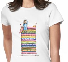 Princess and the Pea Womens Fitted T-Shirt