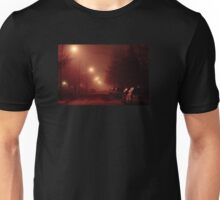 12:01, it's foggy, it's beautiful Unisex T-Shirt