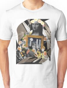 Mona And Twin Towers Collage Art Wear Unisex T-Shirt