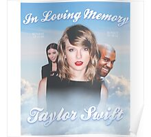 In Loving Memory - Taylor Swift Poster