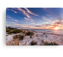 Semaphore Beach, Adelaide South Australia Canvas Print