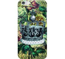 """Vintage Dreams"" -  Royal Crown & Roses iPhone Case/Skin"