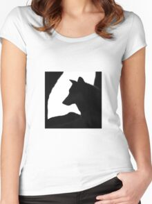 Patient As A Wolf Women's Fitted Scoop T-Shirt