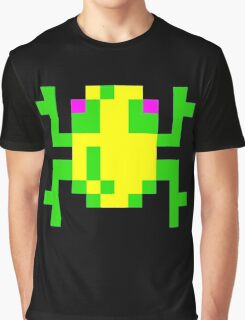 Frogger  Classic Arcade Game 80s Graphic T-Shirt