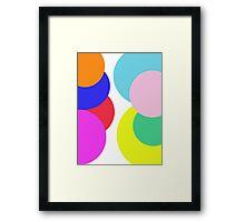 A Little Bubble Colour Framed Print