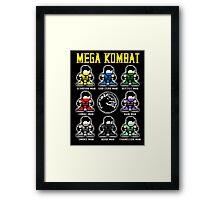 Mega Kombat Framed Print