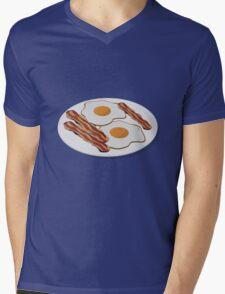 Bacon & Eggs Mens V-Neck T-Shirt