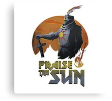 Praise the Sunbro 3 Canvas Print