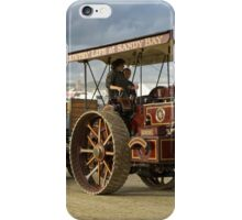 Burrell 4nhp Gold Medal Tractor No.3689 'Sunrise' iPhone Case/Skin