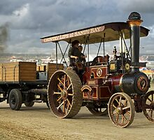 Burrell 4nhp Gold Medal Tractor No.3689 'Sunrise' by Andrew Harker