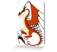 Hookfang Heraldry Greeting Card