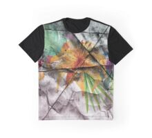 Asphalt Flower 1 Graphic T-Shirt