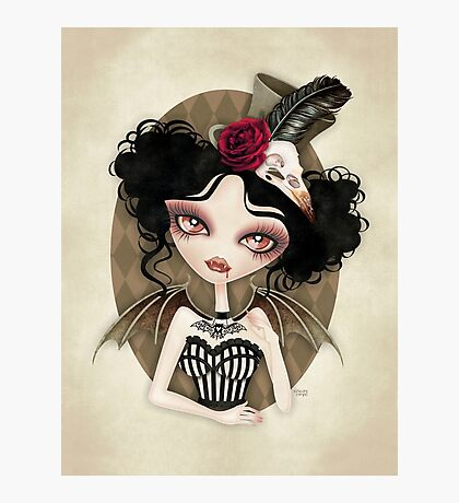 Countess Nocturne Photographic Print
