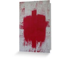 RED CROSS Greeting Card