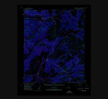 USGS TOPO Map Alaska AK Livengood B-3 357110 1954 63360 Inverted Unisex T-Shirt