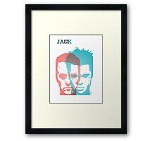 THE FIGHT CLUB TEE Framed Print