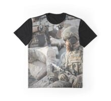 Two soldiers shielded the front lines Graphic T-Shirt