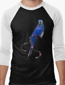 Hyacinth Macaw Men's Baseball ¾ T-Shirt