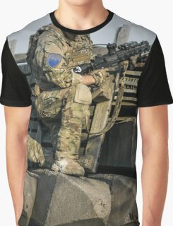 soldier shielded the front line Graphic T-Shirt