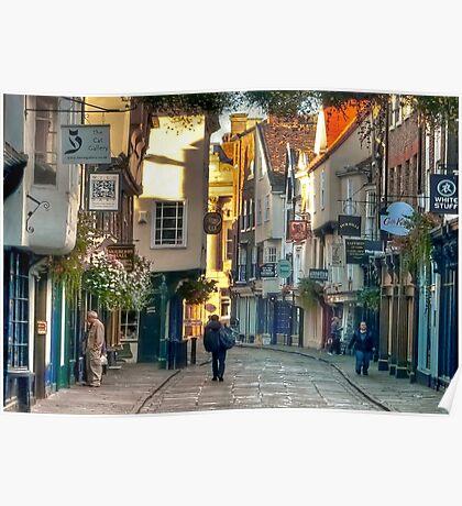 Stonegate - York,England,UK Poster
