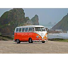 Volkswagon 'Surfer' Bus Photographic Print