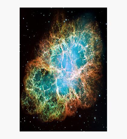 Galaxy Crab Photographic Print
