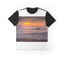 Evening sunset at sea Graphic T-Shirt