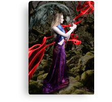 Pandora, Greek Mythological Goddess Canvas Print