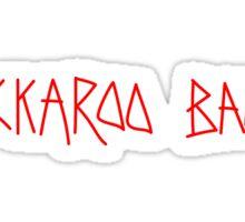 BUCKAROO BANZAI Graffiti Sticker