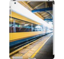 The train leaving platform . . . . .  iPad Case/Skin