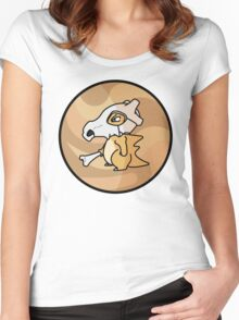 Cubone Go! Women's Fitted Scoop T-Shirt