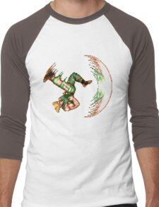 Guile Flash Kick Men's Baseball ¾ T-Shirt