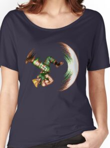 Guile Flash Kick Women's Relaxed Fit T-Shirt