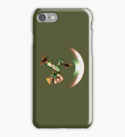 Guile Flash Kick iPhone Case/Skin