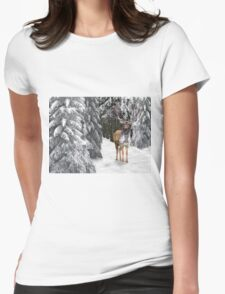 In the Bleak Midwinter Womens Fitted T-Shirt