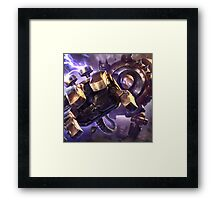 The Great Steam Golem Framed Print