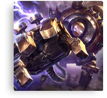 The Great Steam Golem Canvas Print