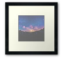 Earthen Galaxy Framed Print