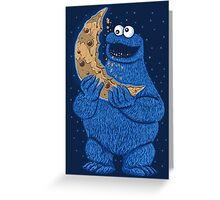 Cookie Moon Greeting Card