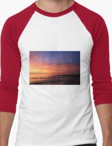 Sunrise in Sheboygan, Wisconsin Men's Baseball ¾ T-Shirt