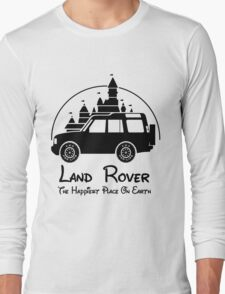 Disney Castle - Land Rover (Parody) Long Sleeve T-Shirt