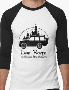 Disney Castle - Land Rover (Parody) Men's Baseball ¾ T-Shirt